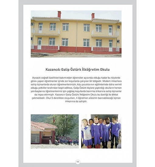 Kazancılı Galip ÖZTÜRK İlköğretim Okulu