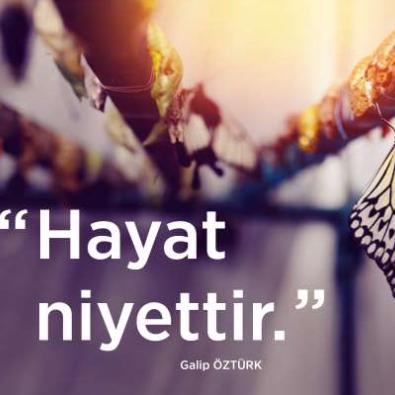 Galip Öztürk'ten Anlamlı Sözler!