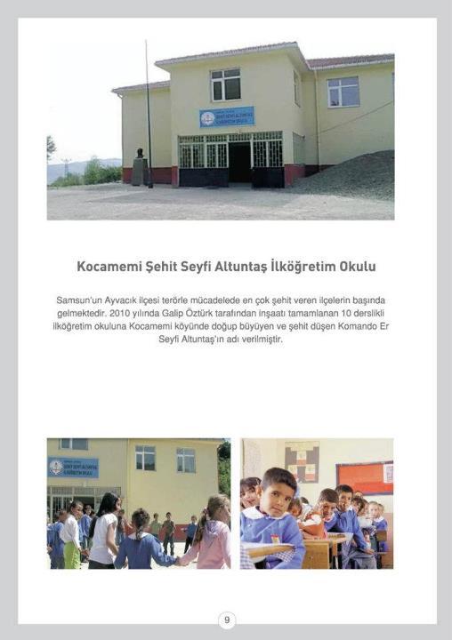 Kocamemi Şehit Seyfi Altuntaş İlköğretim Okulu