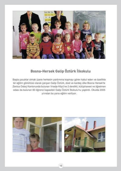 Bosna-Hersek Galip ÖZTÜRK İlkokulu