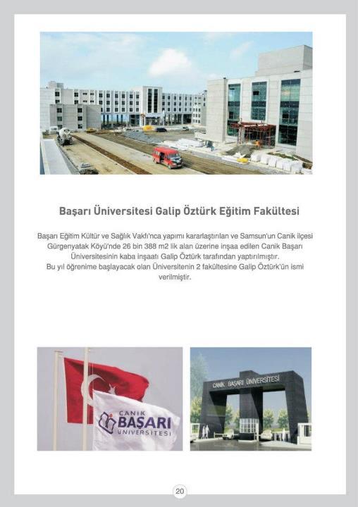 Başarı Üniversitesi Galip ÖZTÜRK Eğitim Fakültesi