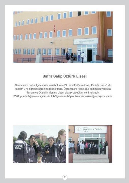 Bafra Galip ÖZTÜRK Lisesi